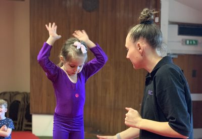 4-5 years Holborn Gymnastics Club