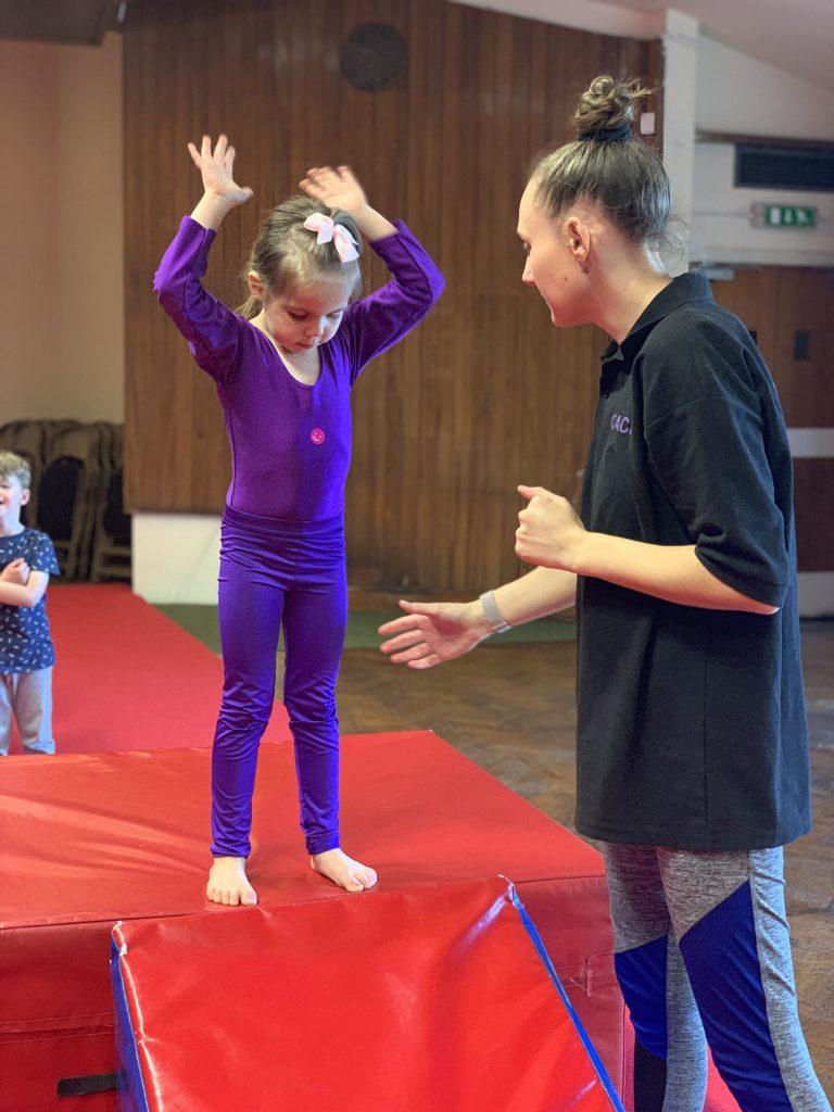 4-5 years Holborn Gymnastics Club