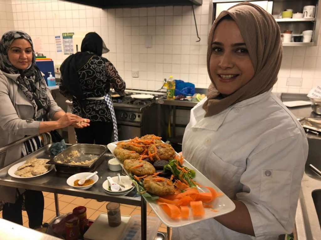 Ruma Food Explorers fish Holborn Community Association