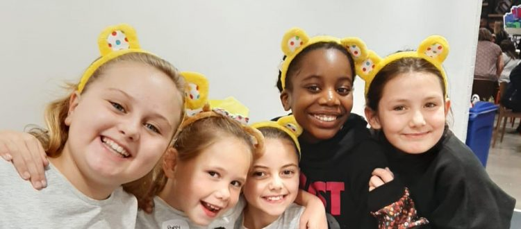 Holborn Gymnastics Club fundraise for Children In Need
